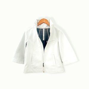 Lululemon Soft shell swing jacket off white zip up